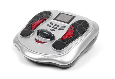 Large LCD screen foot care massager