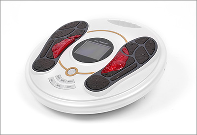 Color screen EMS foot massager